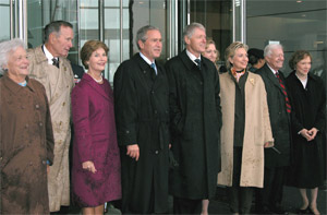 Living Presidents and Wives