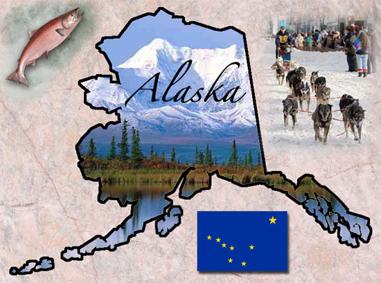 Alaska Fun Facts State Symbols Photos Visitor Info - Us state facts map and state symbols