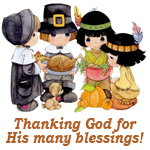 Thanksgiving - Thanking God for His blessings