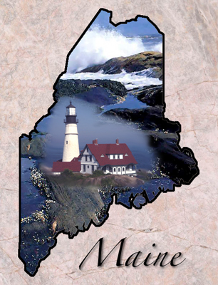 Maine State Symbols Facts Photos Visitor Info