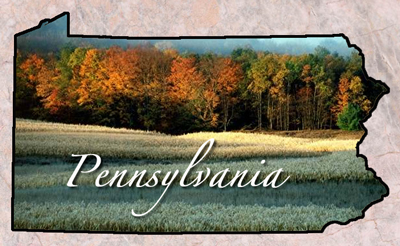 Pennsylvania Colony Landscape