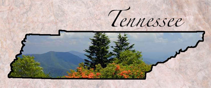 Tennessee - Fun Facts, State Symbols, Photos, Visitor Info on map of nashville tn, map of chattanooga tn, map of philadelphia tn, map of cumberland plateau tn, map of memphis tn,