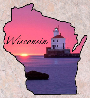 Wisconsin Fun Facts State Symbols Photos Visitor Info - Us state facts map and state symbols