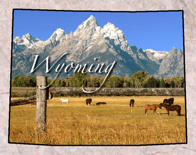 wyoming   fun facts state symbols photos visitor info
